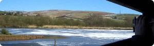 Hollingworth Lake, image from Friends of Hollingworth Lake (links to website).