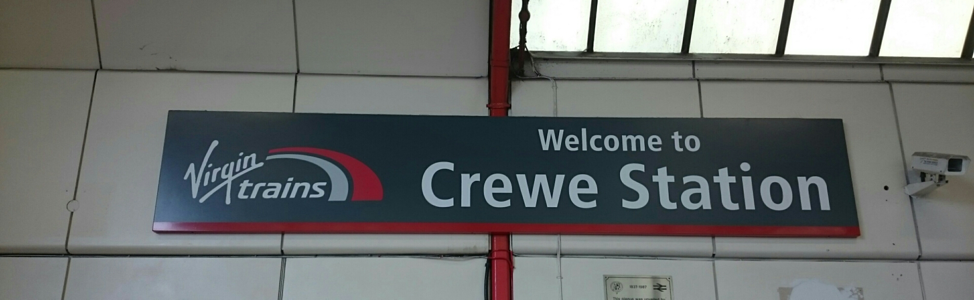 Crewe station, we've had times together you know...